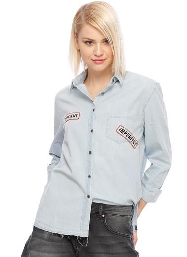 T-Box Gömlek Mavi